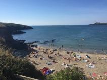 Porthsele Beach in august